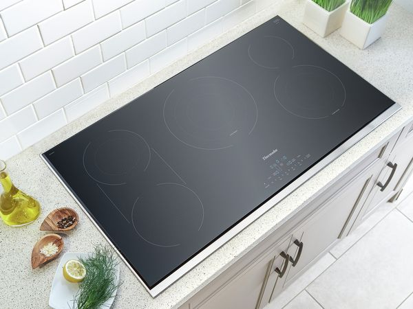Best 36 inch Electric Cooktop with Downdraft