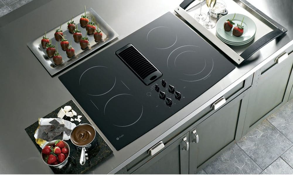 Best Electric Cooktops With Downdraft