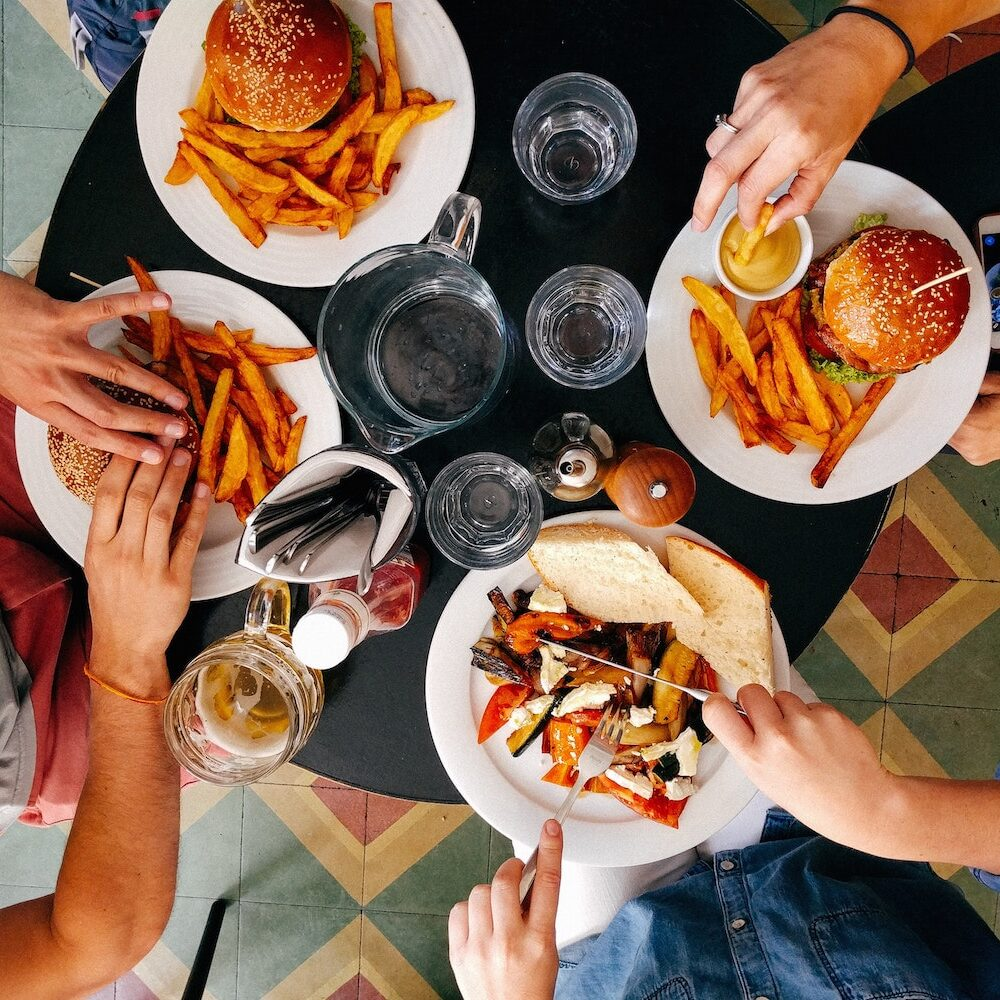 Benefits From Eating Family Meals Together